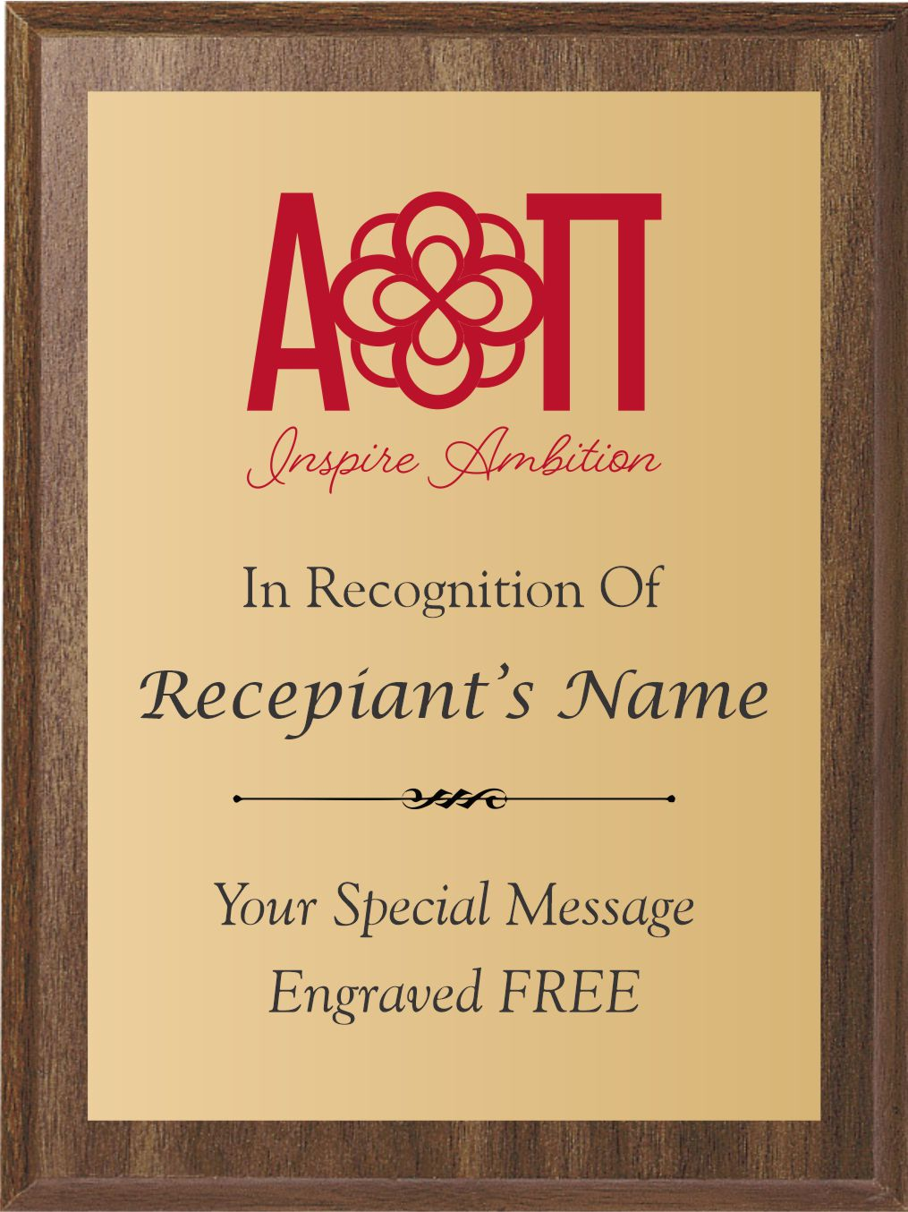 Alpha Omicron Pi Awards