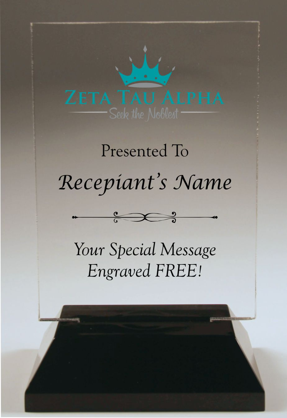 Zeta Tau Alpha Awards