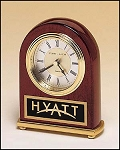 Rosewood Desk Clock 4