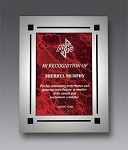 Clear Boarder Acrylic Award Plaque 8x10
