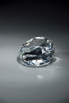 CRY66 Slant Front Crystal Paperweight MA - 2