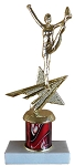 Star Cheerleader Trophy 822 - 9