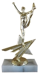 Star Action Cheerleader Trophy 806 - 6