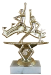 Double Action Cheerleader Trophy - 6