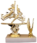 Star Double Action Allstar Cheer Trophy - 6