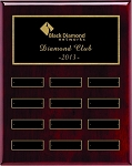 Rosewood Piano Finish Employee of the Month Plaque 9