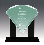 Diamond Bevel Acrylic Award