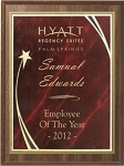Economy Award Plaque - Star Plate - 9