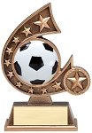 Star Resin Soccer Trophy 505 - 5.75