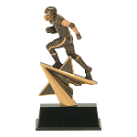 Star Power Resin Football Player 603 - 7