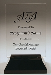 Alpha Sigma Alpha Rectangle Acrylic Award