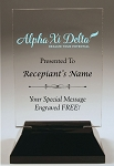 Alpha Xi Delta Rectangle Acrylic Award