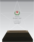 Chi Omega Star Acrylic Chapter Award