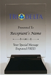 Delta Delta Delta Rectangle Acrylic Award