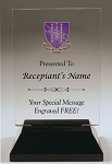 Delta Phi Epsilon Rectangle Acrylic Award