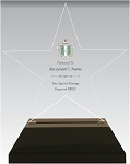 Delta Zeta Acrylic Star Chapter Award