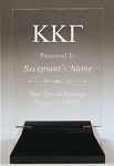 Kappa Kappa Gamma Rectangle Acrylic Award