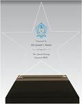 Kappa Kappa Gamma Acrylic Star Chapter Award