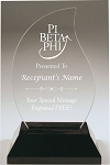 Pi Beta Phi Flame Acrylic Award