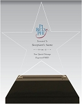 Pi Beta Phi Acrylic Star Chapter Award