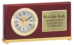 Rosewood Desk Clock Q061