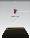 Sigma Kappa Acrylic Star Chapter Award