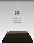 Sigma Sigma Sigma Acrylic Star Chapter Award