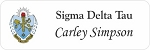 Sigma Delta Tau Sorority Name Tags