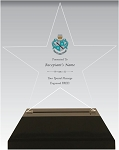 Zeta Tau Alpha Acrylic Star Chapter Award