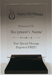Alpha Chi Omega Rectangle Acrylic Award