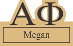 Alpha Phi Sorority Name Tags