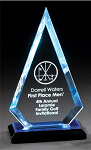 Impress Reflections Arrowhead Acrylic Award