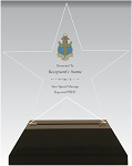 Delta Gamma Star Acrylic Chapter Award