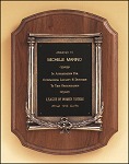 Classic Walnut Plaque With Metal Frame 11