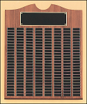 Walnut Perpetual Recognition Plaque