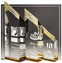 Spectrum Chisel Carved Acrylic Award
