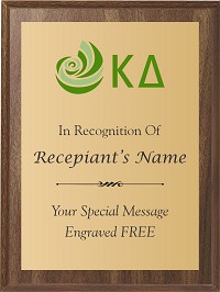 Kappa Delta Award Plaque