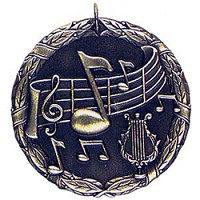 "2"" XR Music Medal"