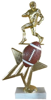 Star Football Trophy - 12""
