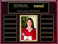 "10.5""x13"" Employee Photo Plaque"