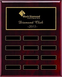 "12"" Employee of the Month Plaque"