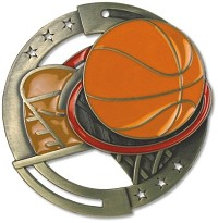 "2.75"" Basketball Medal"