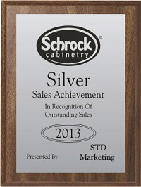 "4""x6"" Full Color Award Plaque"